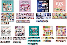✡︎送料無料✡︎ マスキングテープ BTS / TWICE / SHINEE  /  TVXQ  /  GOT7  /  MONSTA X  /  SEVENTEEN /  K-POP / BT21