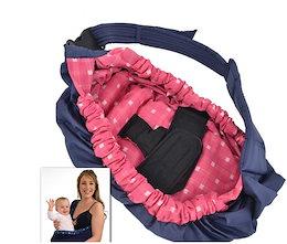 スリング 新生児から使用可能 抱っこひも ベビーキャリー ベビースリング ゆりかごキャリー