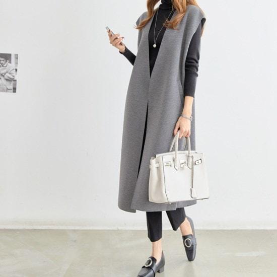 ペッパーソフトモダンベスト69109 ベセチュウ / ニット・ベスト/ 韓国ファッション