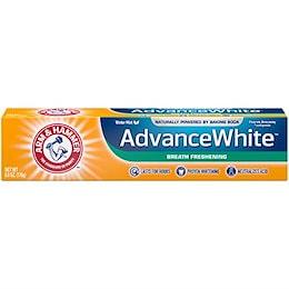 アーム&ハマー アドバンス ホワイト 歯磨き粉 ブレス フレッシュニング 170g Advance White Breath Freshing Baking Soda & Frosted Mint