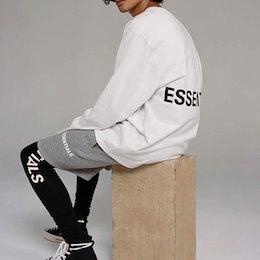 《送料無料》[UNISEX] ESSENTIALロゴロングスリーブtシャツ (3color)