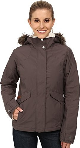 Columbia Womens Grandeur Peak Jacket, Mineshaft, Large