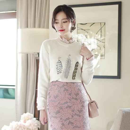 【フィオナ】グルカートゥースknit / m5890 /ニット ニット/セーター/ニット/韓国ファッション