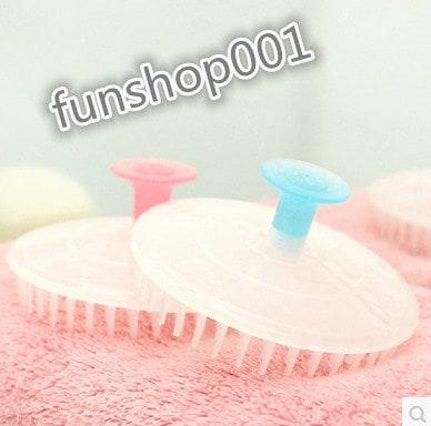 1つ 入浴のブラシ髪のシャンプーヘッドのかゆみ活性化頭皮のシャンプーブラシ
