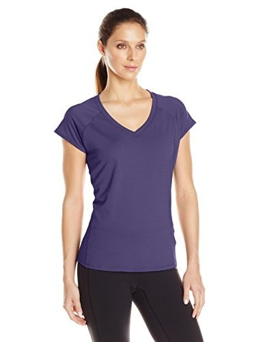 prAna Womens Lattice Top, Indigo, X-Large