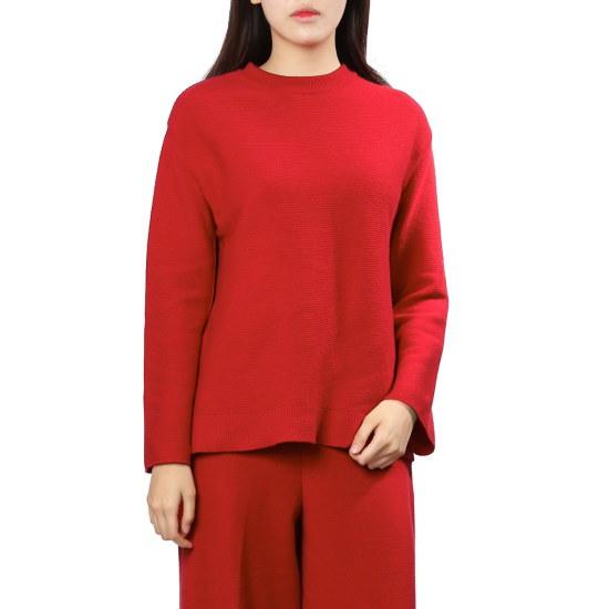 ナイスクルラプ袖ボタンポイントニートN174KSK005 / ニット/セーター/ニット/韓国ファッション