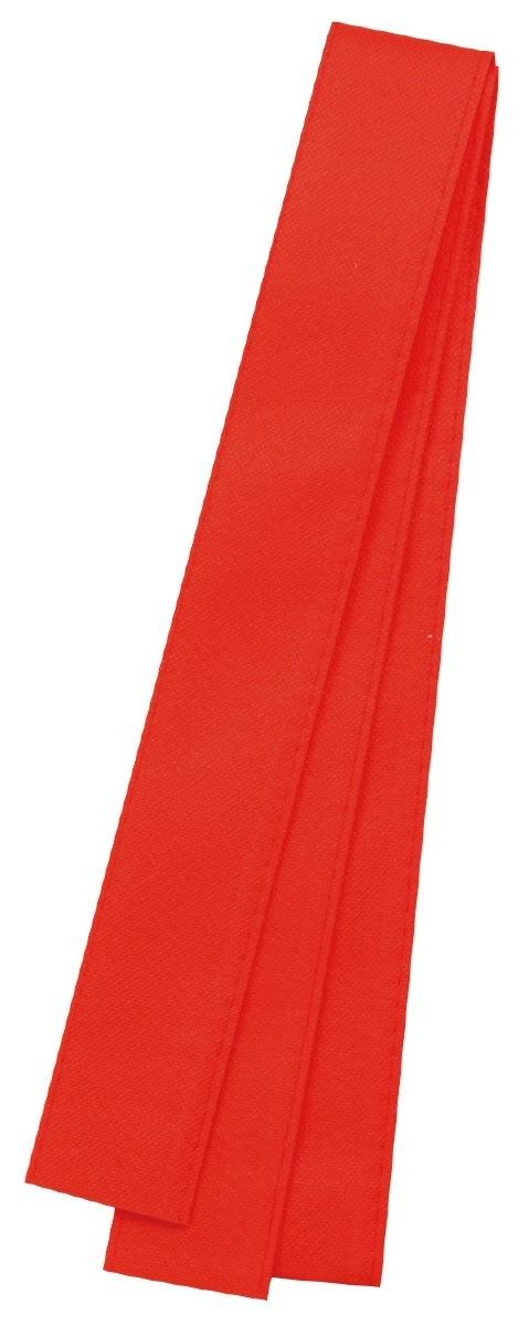 アーテック カラー不織布ハチマキ 赤 2979