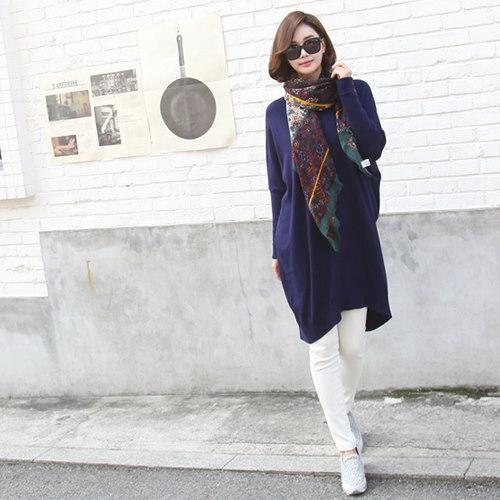 [zoozoom] V-neck loose-fit cashmere knit 4color / 24850