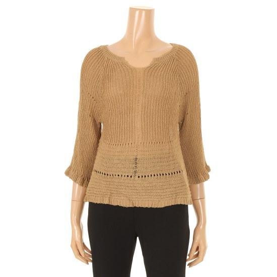 パパイヤマンゴーフリルニートCNGRTP023C ニット/セーター/韓国ファッション
