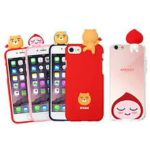 ★ KAKAO カカオフレンズPeekabooゼリー/ミラーケース ★ iPhone X / iPhone 8 / iPhone 7 / iPhone 6 ★ Galaxy S9 / S8 ★