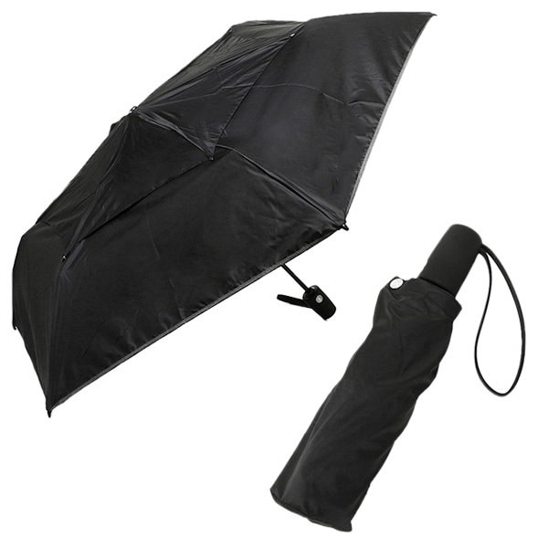 トゥミ 傘 TUMI 14415 D ミディアム オートクローズ アンブレラ 折りたたみ傘 BLACK