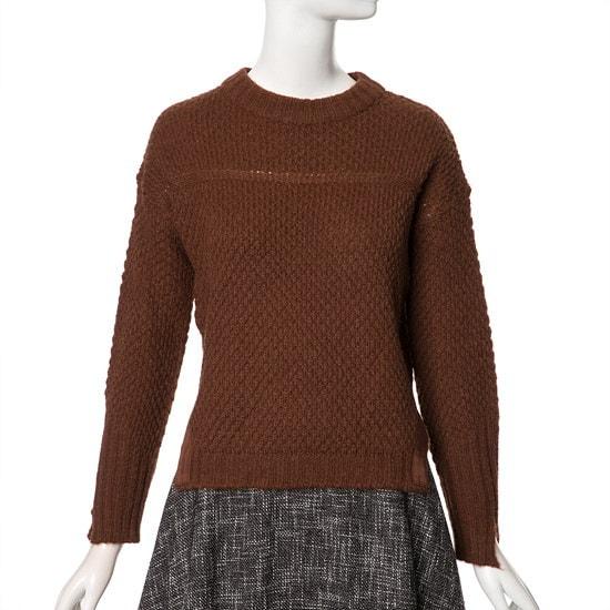ラインアルファニートNKPOFL60 ニット/セーター/韓国ファッション