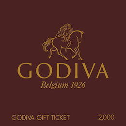 【giftee】GODIVA (ゴディバ)ギフト券(2000円)