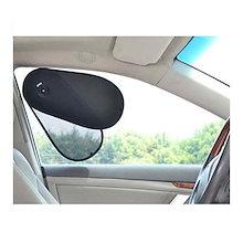 TFYTFY 車 日除け 遮光サンシェード 前部サイドウインドーシェード ワンアクションで広げる 重ねる 車内温度下げ カー 窓  日焼け防止 ほとんどの車に対応  セダン型、フォード、シボレー、ビ