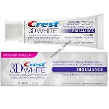【最安値】【 安心米国製】【LUXEシリーズの3倍効果】 米国で大人気のホワイトニング歯磨き粉 Crest 3D クレスト 3Dホワイト バイブラント・ペパーミント味 ホワイトニング歯磨き粉 116g