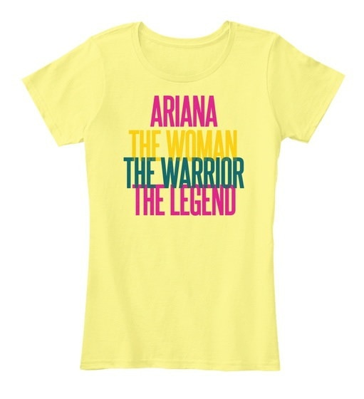 Ariana女戦士女子プレミアムティー