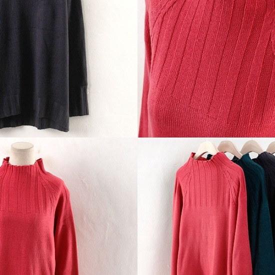 ウィスィモールIWドルドルイバンポルラニトゥティEB1710 ニット/セーター/ニット/韓国ファッション