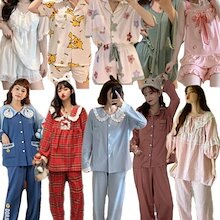 【2枚+1枚3枚+2枚】今日新入荷2021夏 韓国 可愛 パジャマファッション シルクパジャマ セットアップ レディースパジャマ 婦人ナイトウェア 上下セット