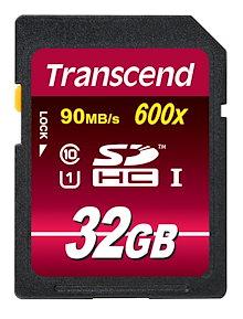 【正規国内販売代理店・ネコポス便送料無料】トランセンド[Trancend]32GB SDHCカード Class 10 UHS-I 600x (Ultimate)TS32GSDHC10U1