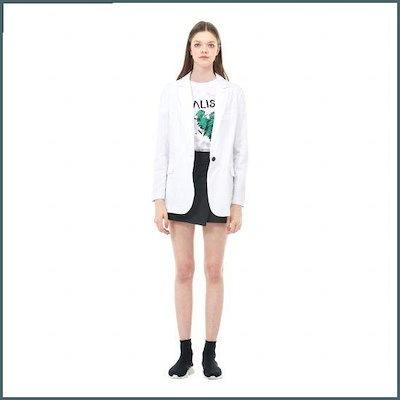 [ボブ(衣類)ワンボタンフ ラップシングルジャケット7158210101101 /テーラードジャケット/ 韓国ファッション