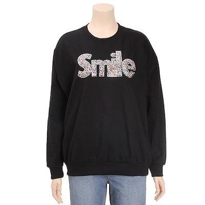 [AK公式ストア][us n them] [us n them]女性用スマイルTシャツ(TBTC413)