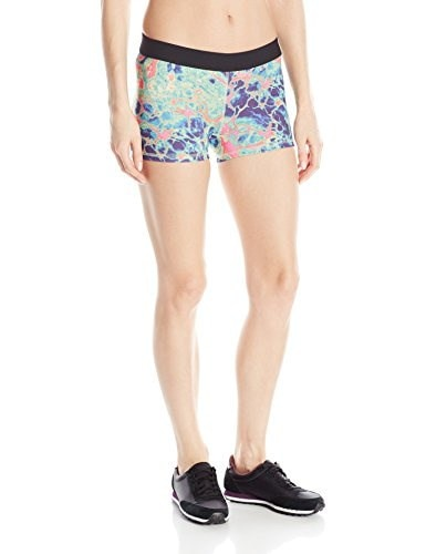 Soffe Womens JRS Dri Short Poly Spandex, Electric Marble, Small