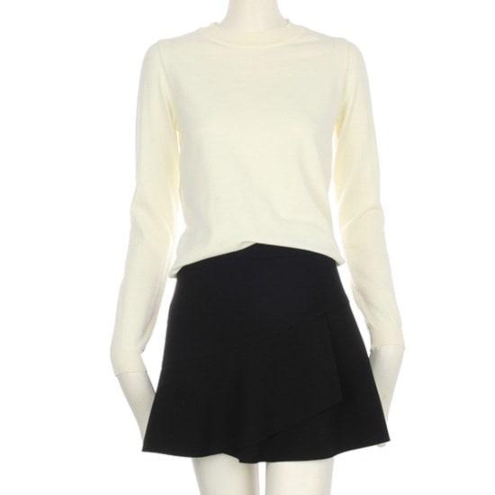 【A&C] [通常価格79,000、割引率51%】基本ラウンドガンジョルギニットENKT81106 ニット/セーター/ニット/韓国ファッション