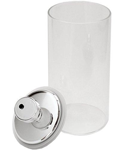 密閉 ガラス キャニスター 保存容器 エア・リデューサー スリム L 1400cc F9490