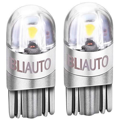 送料無料 BLIAUTO t10 led ホワイト 爆光 w5w led ポジションランプ ウェッジ球 ナンバー灯 ルームランプ 車用 車検対応 3030チップ 2W DC12V-24V 2連
