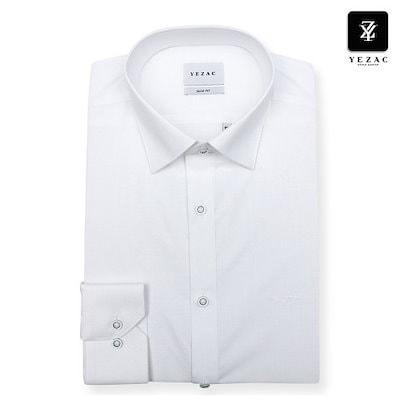 YEZAC[AK公式ストア]【YEZAC】メンズスルロプソリッドスリムフィットシャツYJ9SBS922WH1