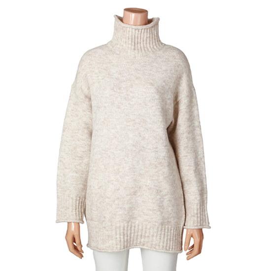 ラインオディション柔らかいデイリーロング・ニットティーシャツNKPOHK1000 ロングニット/ルーズフィット/セーター/韓国ファッション