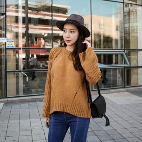 ホワイト・フォックスwhitefox風と共に去りぬニット ニット/セーター/ニット/韓国ファッション