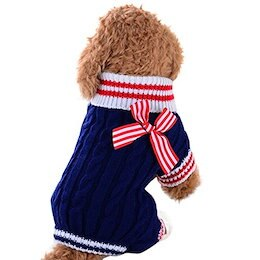 c866935b3bfd5 WEUIE Pet Dog Sweater Dog Clothes Small Dogs Winter Sweaters Rompers  LZP18061801804