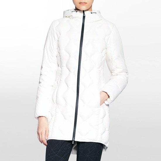 カルバン・クラインのパフォーマンススポーツキルトロングダウンジャケット4WH7O552112 / パディング/ダウンジャンパー/ 韓国ファッション