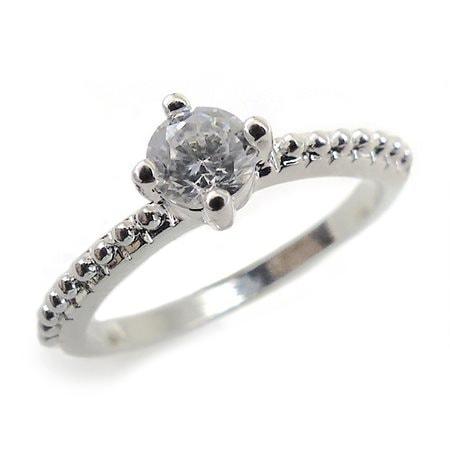 『広告の品 』売り切ります ピンキーリング リング 指輪 レディース シンプル きらきら パーティーや結婚式 プレゼントにも 3号 5号 7号【あす楽】アクセONE おしゃれ レディースジュエリー レ