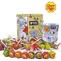 [BT21] [スペシャル・セール] BTS CHUPA CHUPS X BTS 100P 限定販売 韓国人気商品 送料無料
