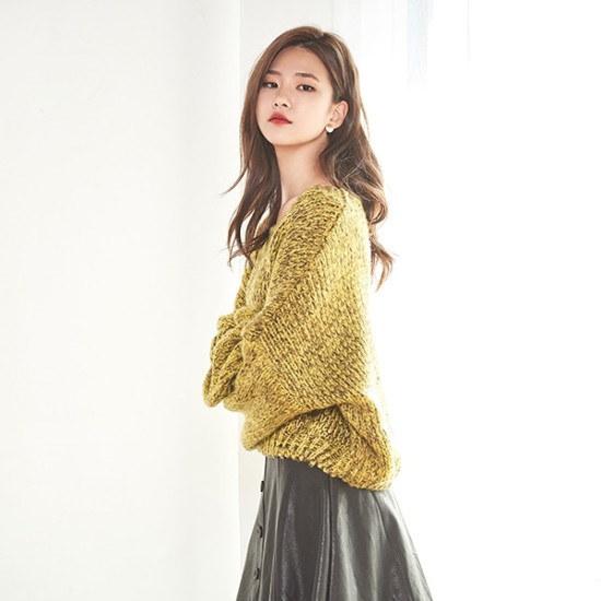 ナインNAINパクシピッボカシニートT3897 ニット/セーター/ニット/韓国ファッション