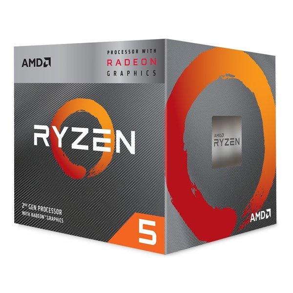 AMD Ryzen 5 3400G with Wraith Spire cooler YD3400C5FHBOX