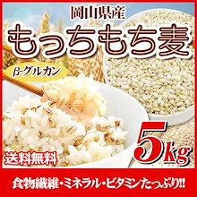 29年岡山県産もっちもち大麦5kg【1袋】