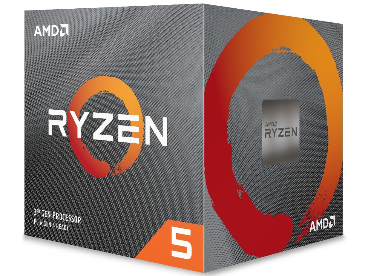 AMD Ryzen 5 3600X BOX with Wraith Spire cooler 3.8GHz 6コア/12スレッド 35MB 95W (100-100000022BOX)