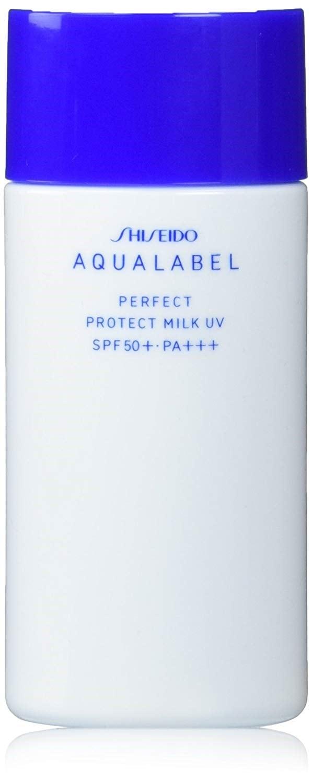 アクアレーベル パーフェクトプロテクトミルクUV 45ml