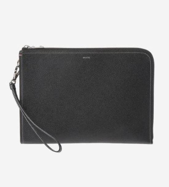 【ヘッジACC]ブラックステッチクラッチバッグ-HJHO7F720 バックパック / 韓国ファッション / Korean fashion