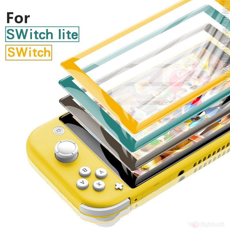 Nintendo Switch用 Nintendo Switch lite用液晶画面完全保護シール/保護シート/保護フィルム任天堂スイッチ用保護フィルム ニンテンドー 用保護シール/クリア【A164】