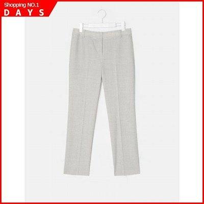 [ソン・アリ、ビーンポールレディース]ライト・グレーメルランジウールスリムフィットスラックス(BF9221C112) /パンツ/面パンツ/韓国ファッション