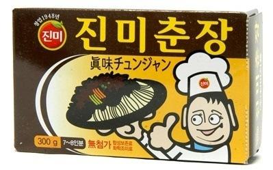 【韓国ジャジャメン】ジンミ チュンジャン300g(7-8人分)韓国食品韓国食材たれ調味料お肉ソースヤンニョム