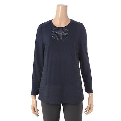 エスカルリエ女性ラウンドティーシャツER1VP951 ティーシャツ / ソリッド/無知ティーシャツ / 韓国ファッション