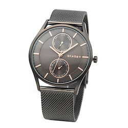 59c2ee4225 SKAGEN スカーゲン メンズ腕時計 SKW6180 デイデイトカレンダー メッシュストラップ