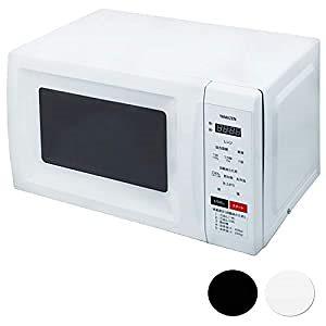[山善] 電子レンジ 17L ヘルツフリー ターンテーブル 消音機能 チャイルドロック付き 全国対応 ホワイト MRM-HF170(W) [メーカー保証1年] 2)ホワイト