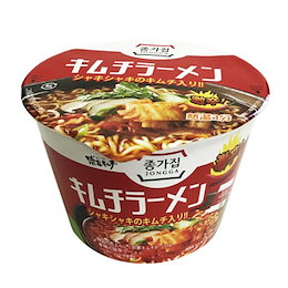 『宗家』キムチカップラーメン(カップ麺・140g×1個) キムチラーメン 宗家ラーメン 韓国ラーメン インスタントラーメン