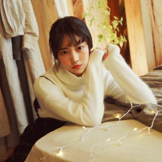 デイリー・マンデーAngora wool pola boxy knitアンコラウルのポーラー・パクシ・ニット ニット/セーター/ニット/韓国ファッション